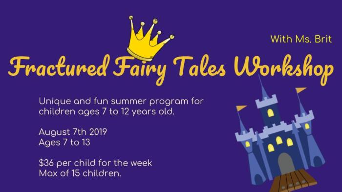 Fractured Fairy Tales Workshop (1)